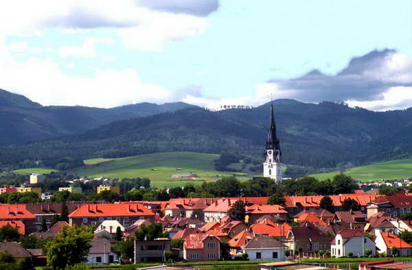 העיירה ספישקה נובה ווס, השער לפארק גן העדן הסלובקי