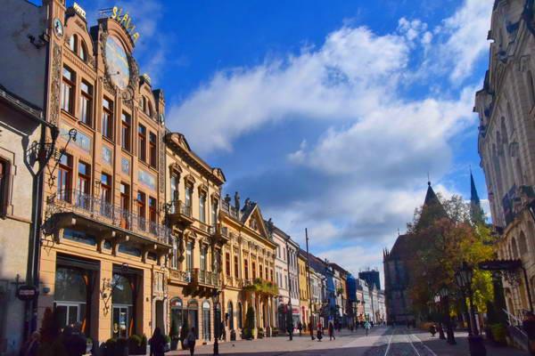 קושיצ'ה, הרחוב הראשי