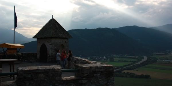 שקיעה בסלובניה