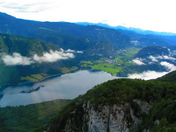 אגם בוהיני, סלובניה