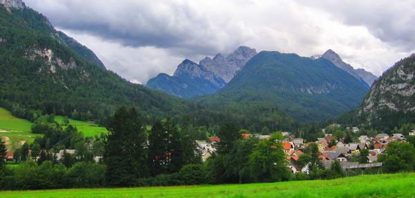 העיירה קרנסקה גורה, סלובניה