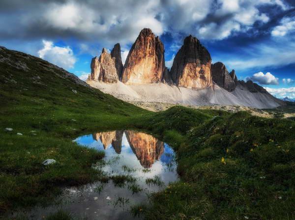 שלוש הפסגות של לבאראדו, הרי הדולומיטים