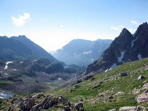 מעבר ההרים רטרה, הפארק הלאומי אגואסטורטס