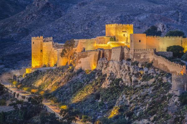 מבצר בדרום ספרד