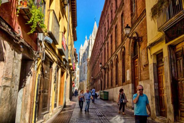 העיר ליאון בצפון ספרד