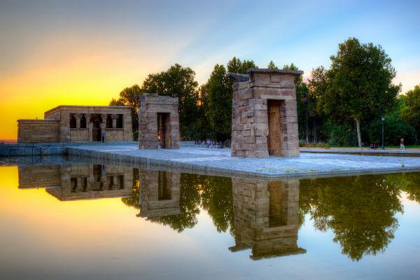 מקדש מצרי במדריד