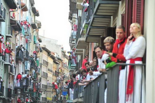 ריצת השוורים בפמפלונה, ספרד