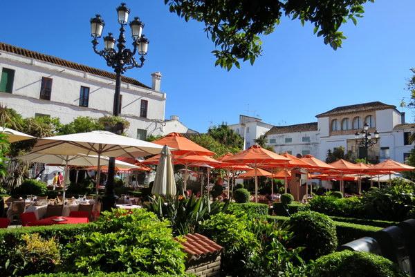 כיכר התפוזים, מרבייה, אנדלוסיה, ספרד