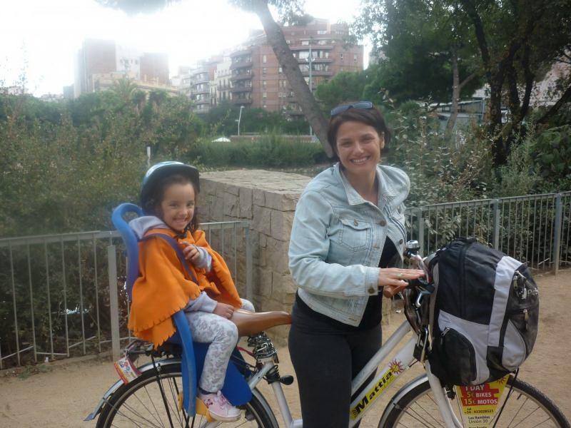 טיול אופניים בברצלונה, טיול משפחתי