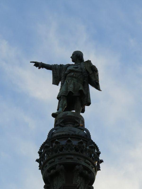 פסל קולומבוס, ברצלונה