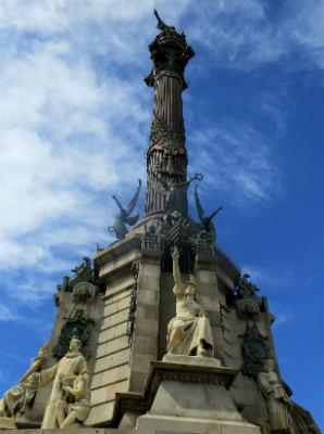 הפסל של קולומבוס בברצלונה