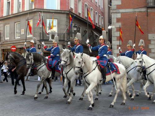 חיילי משמר המלך הספרדי