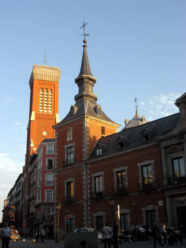 ארמון סנטה קרוז, מדריד