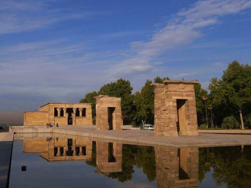 מקדש דבוד, מקדש מצרי עתיק בלב מדריד