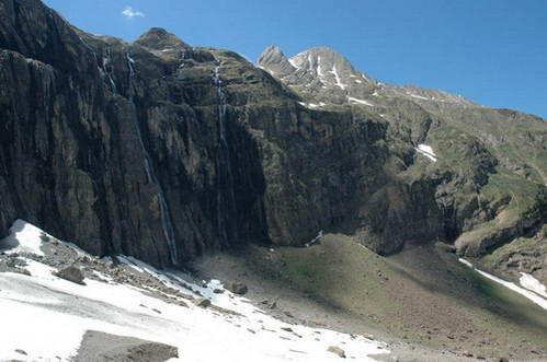 הקרקס הקרחוני גווארני, בדרך למעבר רולנד