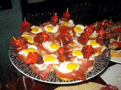 מנות טאפס - אוכל ספרדי