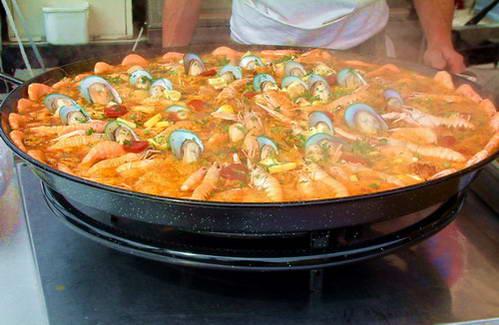 פאייה עם פירות ים, ספרד