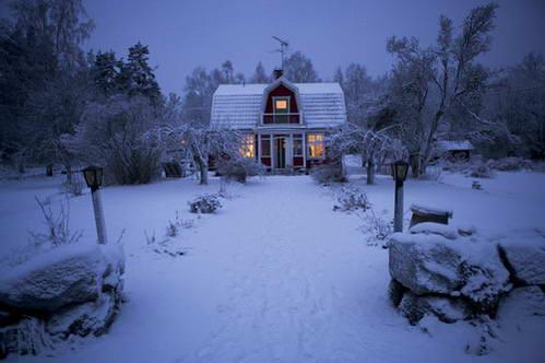 צפון שבדיה, השמש אינה זורחת בחורף