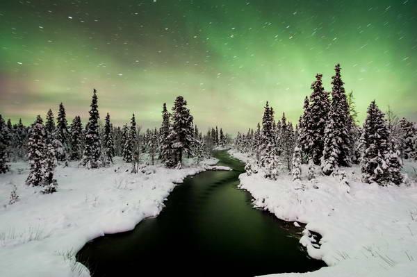 הזוהר הצפוני כפי שנצפה משבדיה