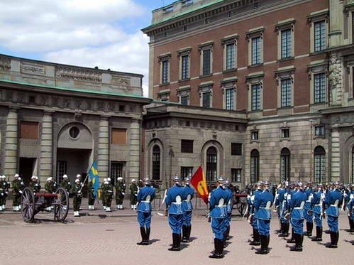 חילופי משמר בארמון המלכותי