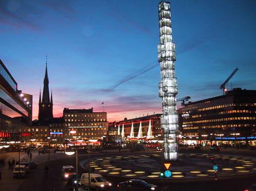כיכר סֶרגל, לב לבה של סטוקהולם