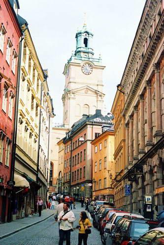 רחובות גאמלה סטאן, העיר העתיקה של סטוקהולם