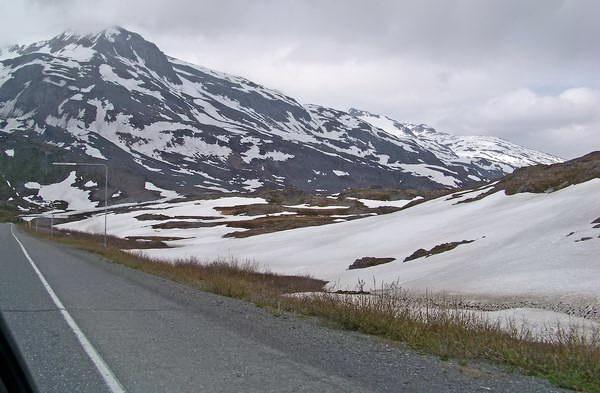 אלסקה, מעבר תומפסון