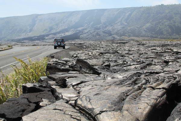 כביש שרשרת המכתשים (Chain of craters road)