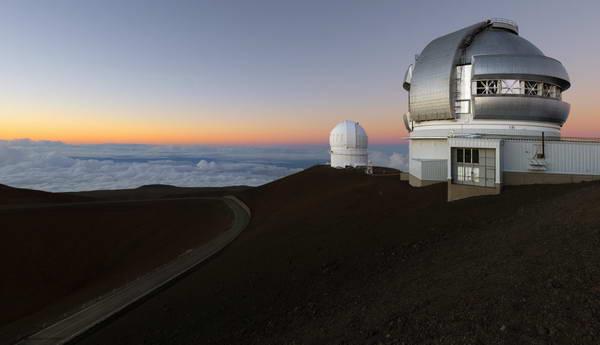 הטלסקופ על הר מאונה קאה
