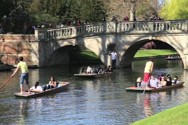 שיט על הנהר, קיימברידג'