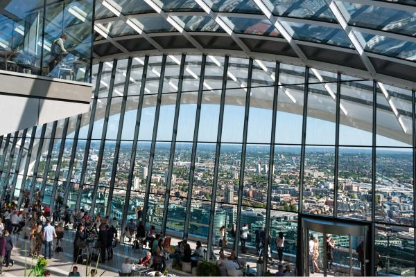 סקיי גארדן – אחת מנקודות התצפית היפות בלונדון
