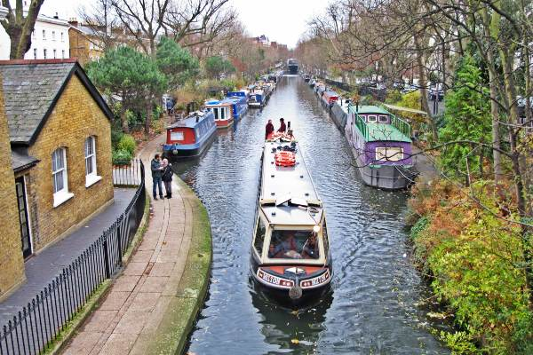 תעלת ריג'נטס, לונדון