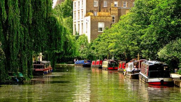 תעלת ריג'נט, ונציה הקטנה, תעלות בלב לונדון