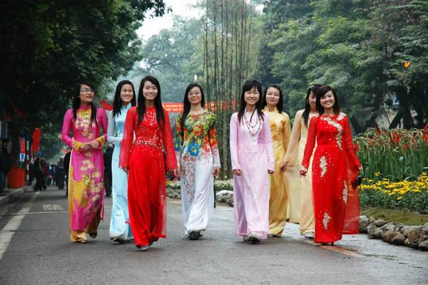 תלבושות מסורתיות בווייטנאם
