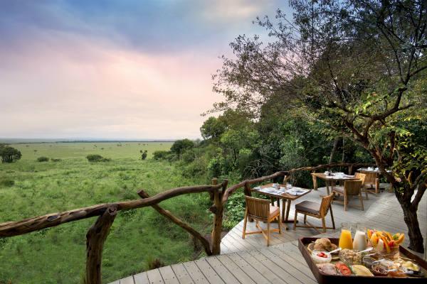 לודג' בשמורת מסאי, קניה