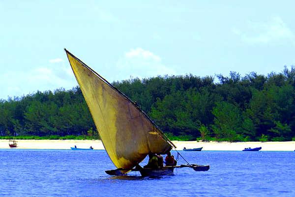 סירת דאו, מזרח אפריקה