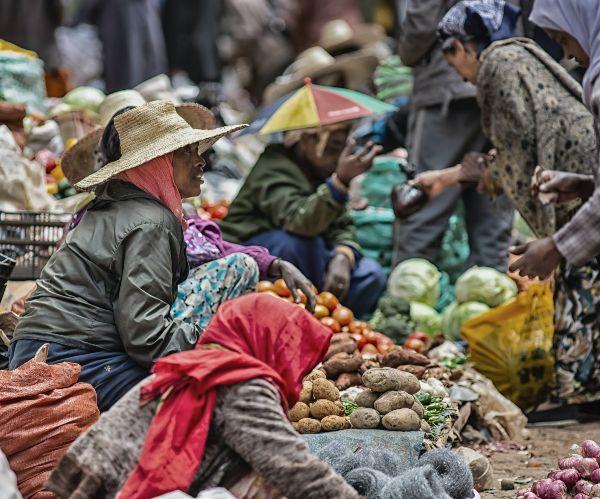 שוק אדיס אבבד, אתיופיה