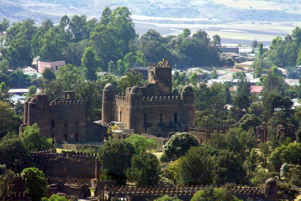 העיר גונדר, אתיופיה