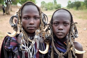 שבט המורסי, אתיופיה