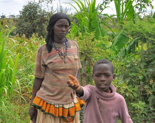 בני שבט הקונסו, אתיופיה