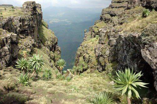 הרי סימיאן, אתיופיה