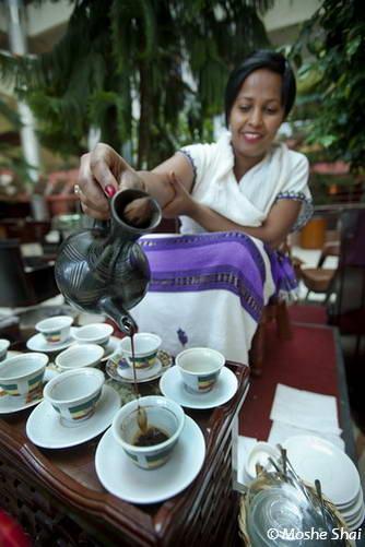 טקס קפה, אתיופיה