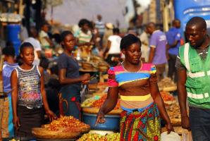 שוק בזמביה