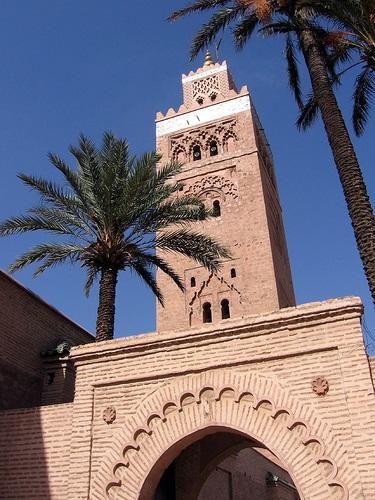 המינרט של מסגד כותובייה במרקש, זכר לתהילת העבר