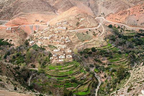 כפר בהרי האטלס, מרוקו