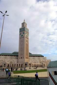 המגדל הגדול בקזבלנקה