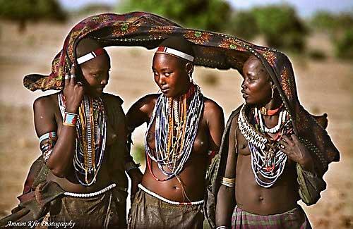 השבטים מעמק אומו, אתיופיה, אפריקה