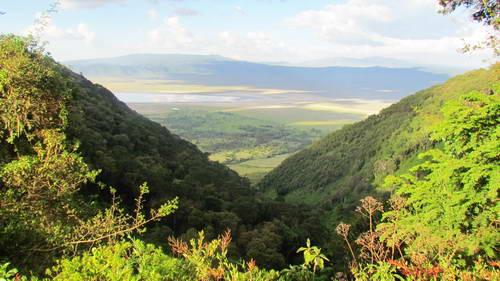 טיול בטנזניה, שמורת נגורונגורו