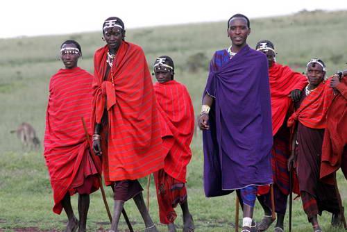 טיסה ישירה לטנזניה, שבט המסאי