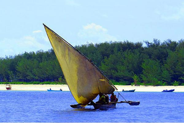 טיול לזנזיבר עם ילדים, סירות דאו